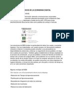 Modelo de Negocios de La Economia Digital