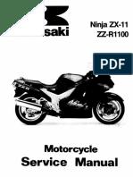 ZX11 Service 93 01-Ocr Kawasaki ZZR 1100
