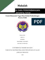 Materi 1 PPD (Perbaikan) Pertanyaan Berdasarkan Tujuan Penulisan Makalah