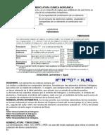 Nomenclatura Química Inorgánicaequipo 2