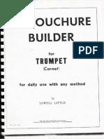 Embouchure Builder for Trumpet (Lowell Little)