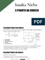 Mechanika Nieba - Położenie Punktu Na Orbicie