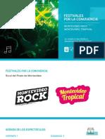 Festivales Para La Convivencia 2017