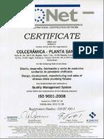 Certificado+IQNET+9001+-+2008