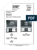 Mitsubishi LCD2005-2006 PTV Training Manual