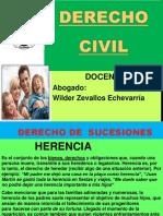 Diapositiva Derecho Sucesiones y Reales