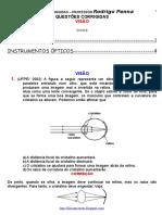Física Insrumentos Ópticos