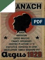 Almanach Argus 1929