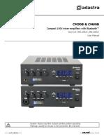 Adastra CM30B, CM60B User Manual