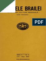Analele Brailei, An 02, Nr. 03, Iulie-septembrie 1930