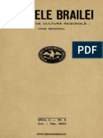 Analele Brailei, An 02, Nr. 04, Octombrie-Decembrie 1930