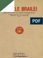 Analele Brailei, An 11, Nr. 01, Ianuarie-Aprilie 1939