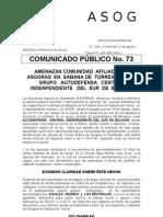 Comunicado No. 73[1]