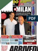 Mundo Deportivo 29-08-2010