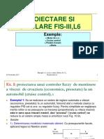 L6 SIIC-SICA Proiectare, Simulare FLC Cu FLT-Matlab 88 Slides