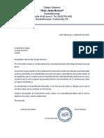 Carta Cooperativa Salcaja