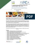 Curso Oficial en Controles Preventivos FSPCA-Qualified Individual
