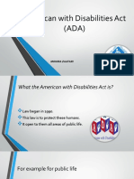 american with disabilities act  ada