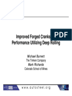 26 - Improved Forged Crankshaft Performance Utilizing Deep Rolling