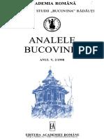 05-2-Analele Bucovinei, An v, Nr. 2 (1998)