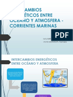 Intercambio Energetico y Corrientes Marinas