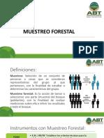 9.- Muestreo forestal...pptx
