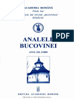 12-2. Analele Bucovinei, An XII, Nr. 2 (2005)