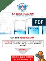 Semana N° 1-A, Investigacion y Tema