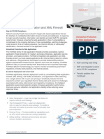 FortiWeb DS