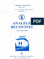 13-2. Analele Bucovinei, an XIII, nr. 2 (2006)