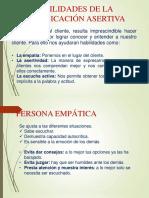 Habilidades de Comunicación Asertiva 1