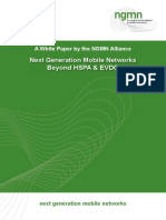 Next Generation Mobile Networks Beyond HSPA EVDO Web