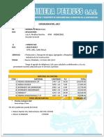 Cotizacion 02-2017 Coseco Sac