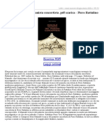 Manuale Tecnico Del Pianista Concertista