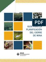 GUÍA PARA LA PLANIFICACIÓN DEL CIERRE DE MINA.pdf