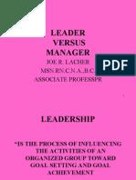 23634638 Nursing Leadership Management