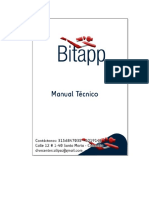 MANUAL TÉCNICO BITAPP DIVE