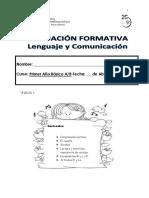 Evaluacion Formativa Unidad 1,,,, 2017