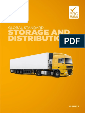BRC Global Standard for Storage and Distribution Issue 3 (en