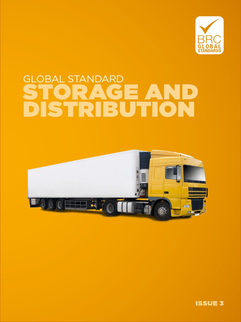 BRC Global Standard for Storage and Distribution Issue 3 (en) (1