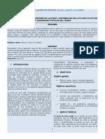 Informe de Lacteos Elementos II