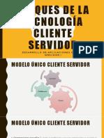 3-Bloques de La Tecnología Cliente Servidor