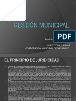 Toma Decisiones en Gestion Municipal