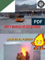 Presentación Uso y Manejo de Extintores
