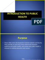 1-Introduction to Public Health