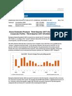 Revised 3rd Quarter GDP
