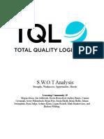 tql swot analysis