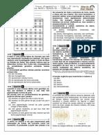 1ª P.D - 2016 (Ciências - 3ª Série E.M) - BLOG Do Prof. Warles