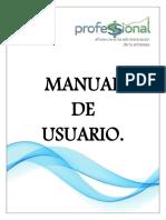 Manual de usuario SOPVI Sistema Punto de Venta