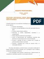 Desafio Profissional - Letras 3ª Série.pdf